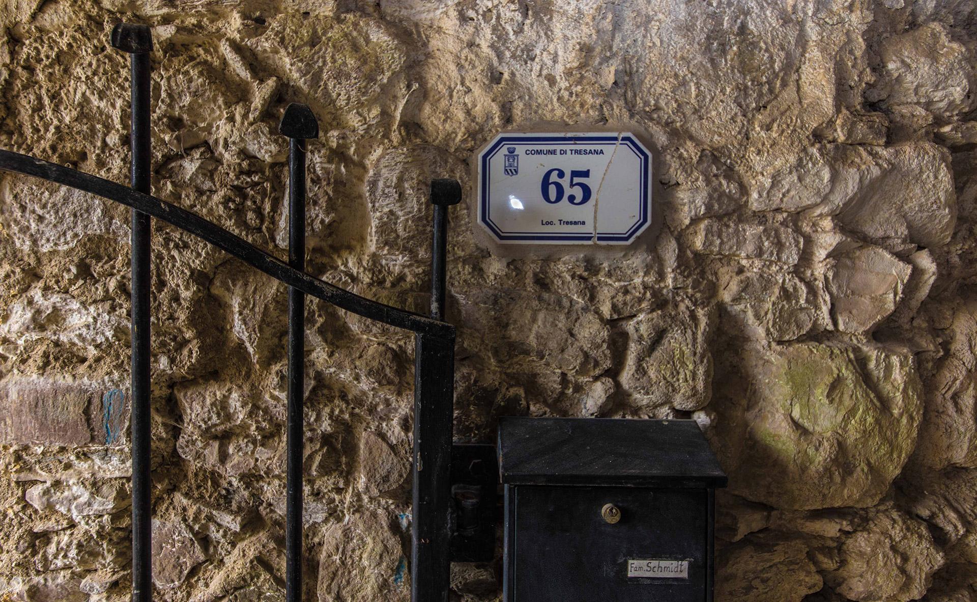 Eingang zur Toskana